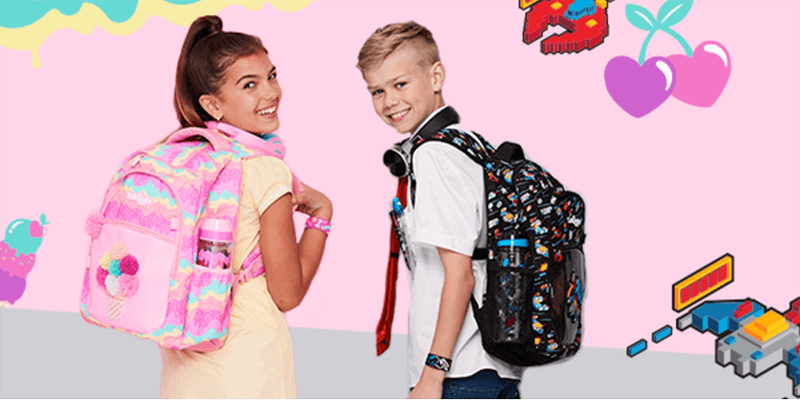 Smiggle Landing Page Banner